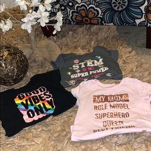 Children's Short Sleeve Bundle ( 3 shirts)